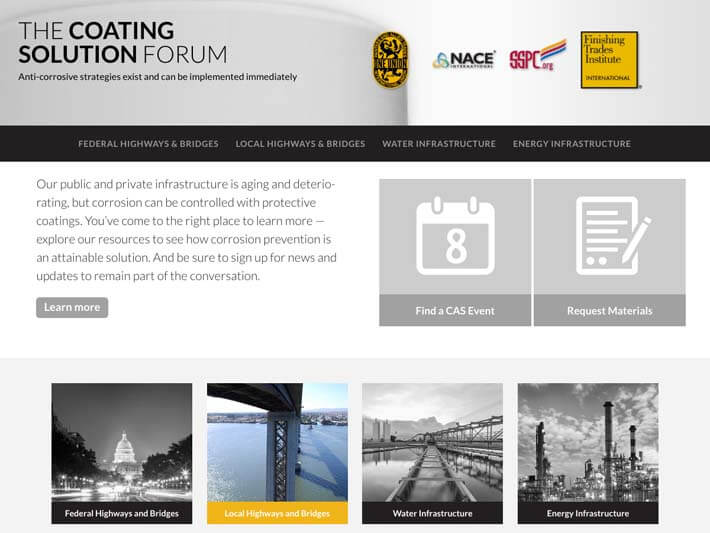 Coating Solution homepage
