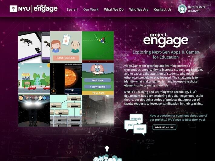 Project ENGAGE homepage